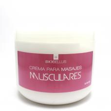 Crema para masajes musculares